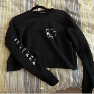 black brandy sweater